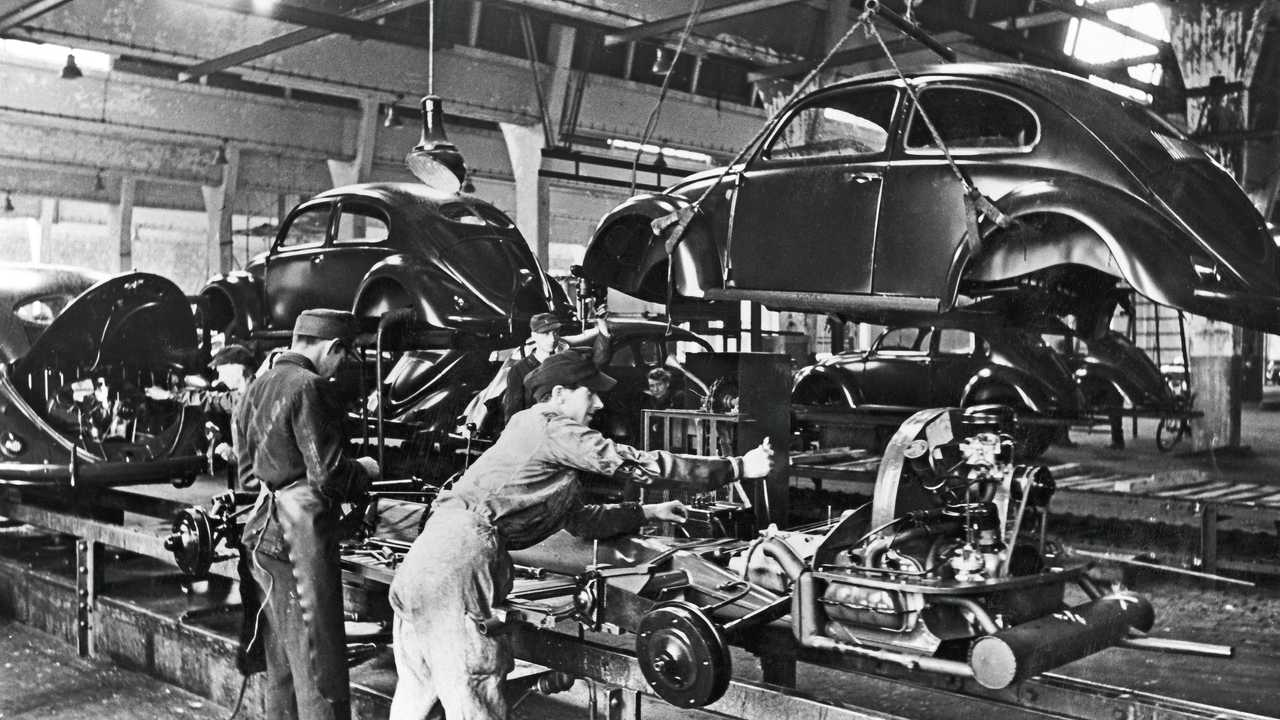 VW Beetle production start