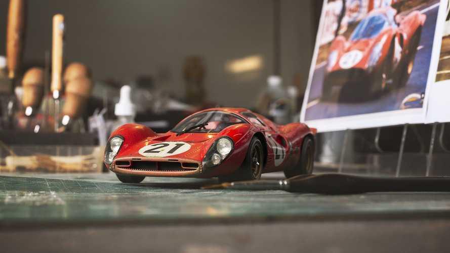 Ferrari 330 P4, il mito di Le Mans rivive in un dettagliato modellino