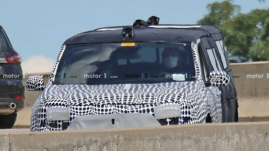 Ford Maverick 2022 - Novos flagras