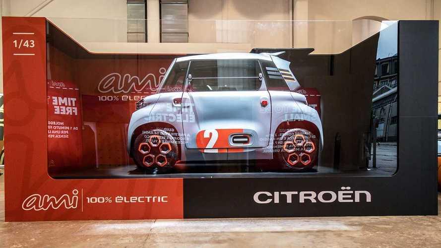 Citroen Ami, l'elettrica da città si scopre alla Milano Design City