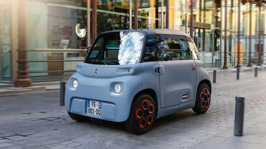 Prueba Citroën Ami (calles de Madrid)