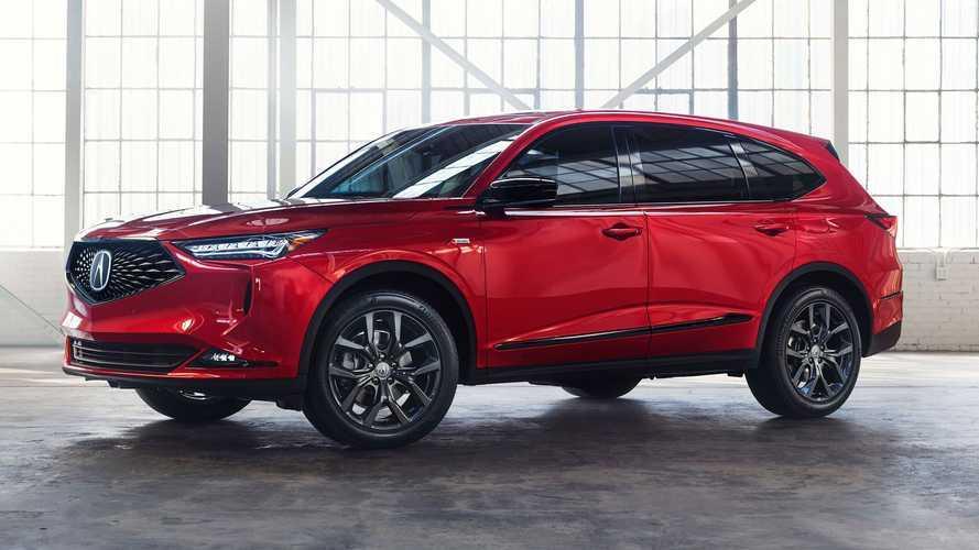 2021 Acura MDX, seri üretime hazır haliyle tanıtıldı