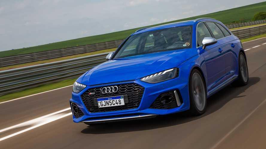 Audi lança novos TT RS, RS 4 Avant e RS 5 Sportback no Brasil; veja impressões