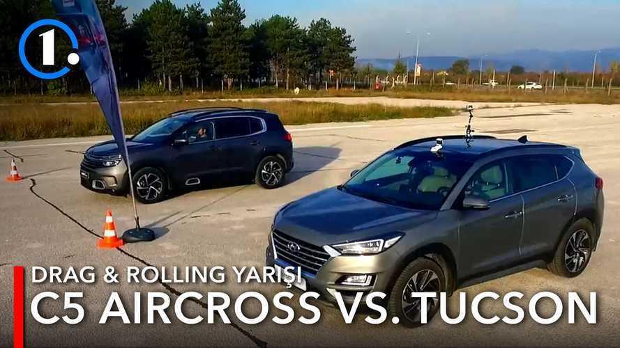 Drag: Hyundai Tucson vs Citroen C5 Aircross