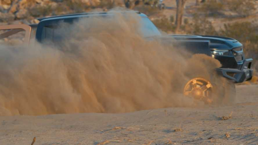 Rezvani Hercules 6x6 teased in the dirt ahead of November 10 debut