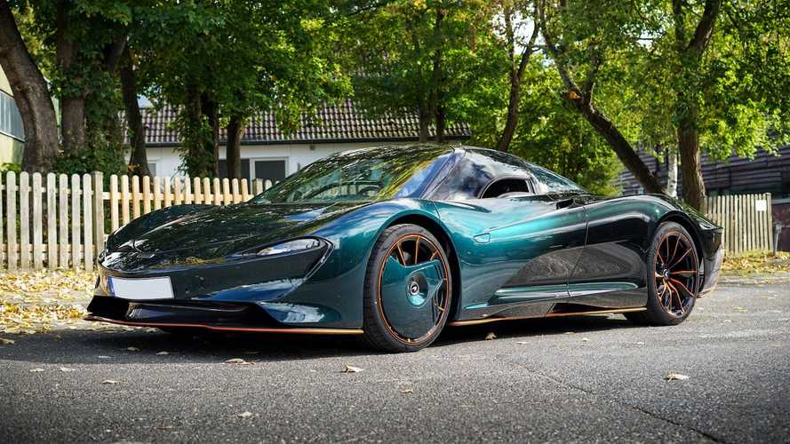 You could buy this McLaren Speedtail for the lowly price of £3.6 million