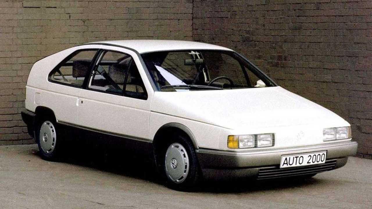 concept dimenticate Volkswagen Auto 2000