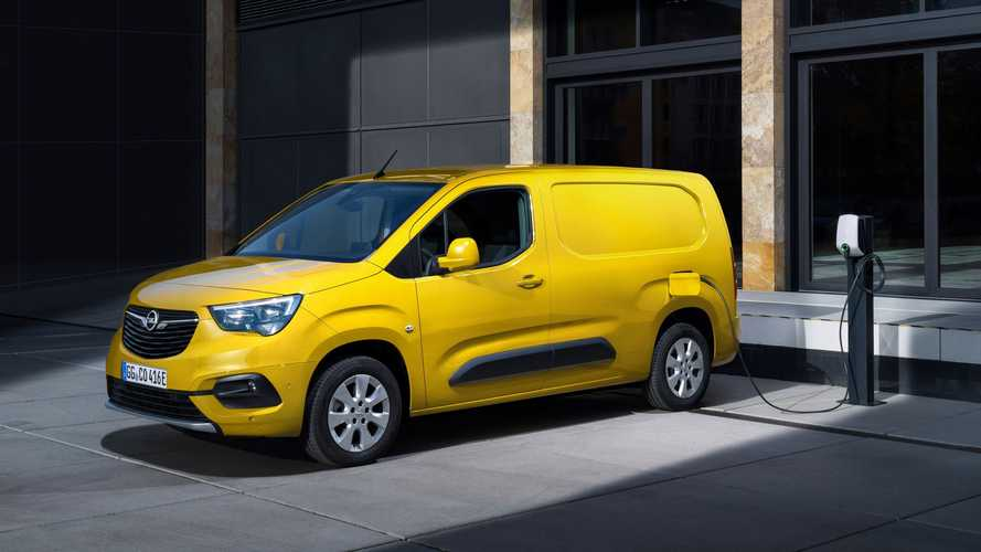 Opel (And Vauxhall) Announce Combo-e Compact Van