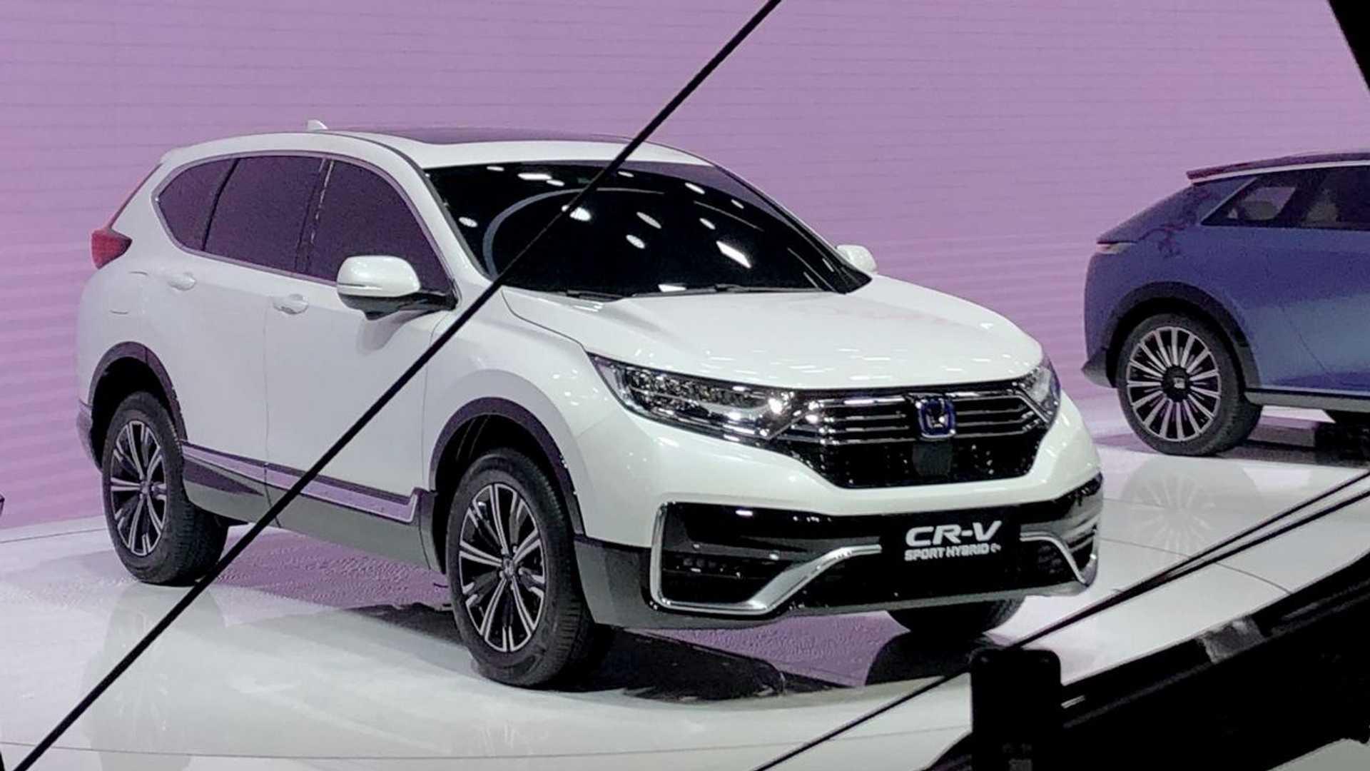 Honda CR-V PHEV - Salão de Pequim