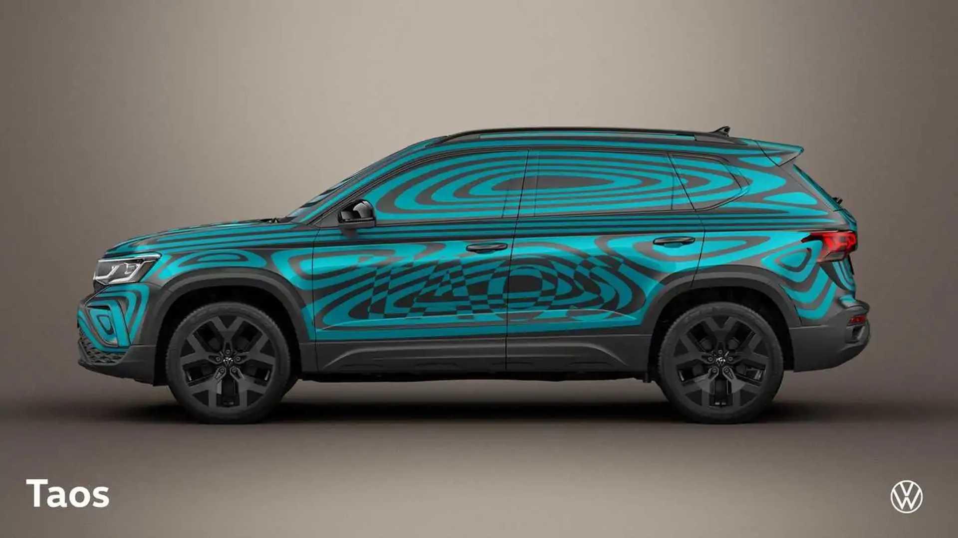 Volkswagen Taos 2022 (Brazil) - Official