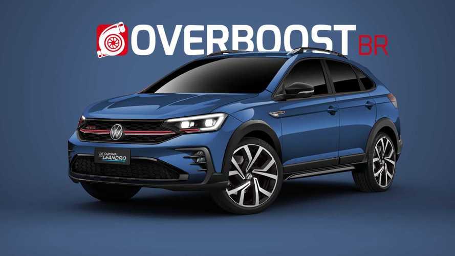 Projeção: VW Nivus GTS seria a versão com motor 1.4 turbo do crossover