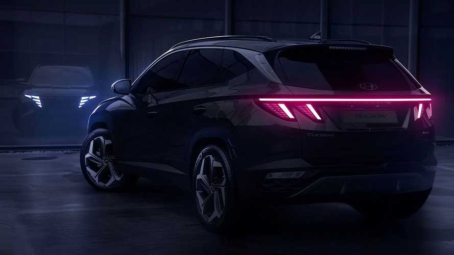 Hyundai Tucson 2021 - Teasers