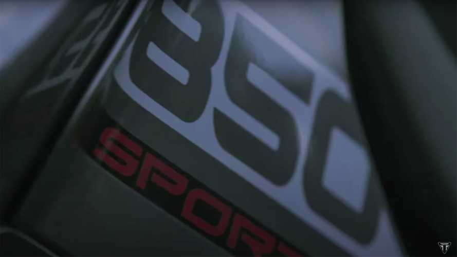 Triumph Teases New Member Of The Tiger Family, The 850 Sport