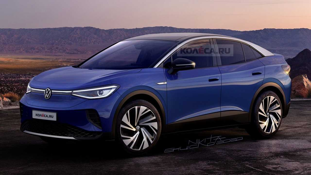 VW ID.4 Coupe rendering (front)