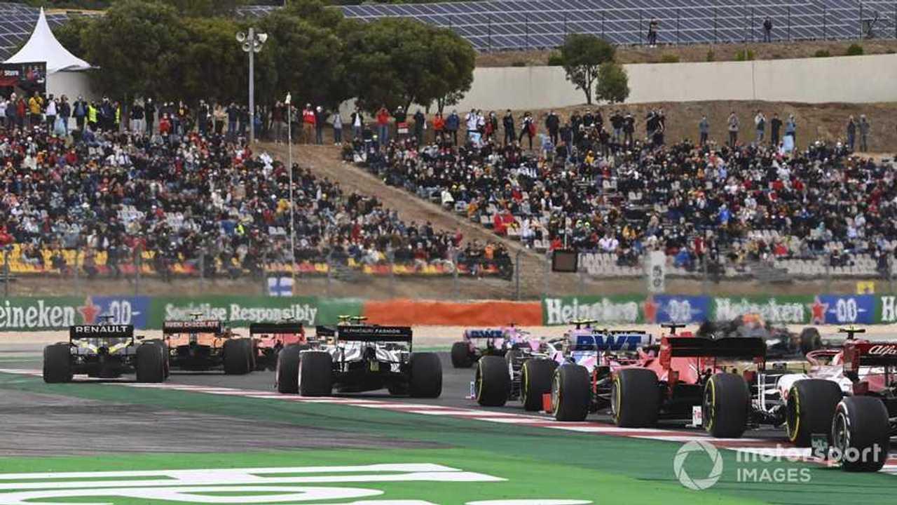 Portuguese GP 2020 race start