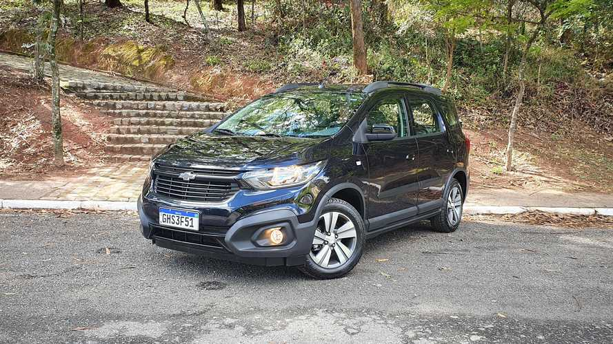 Chevrolet Spin Activ7 2021 (Teste)
