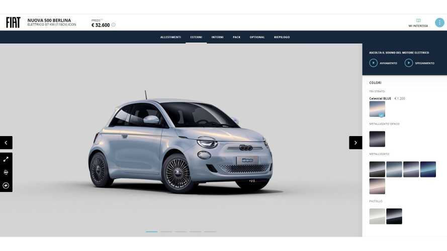 Fiat 500 elettrica, ecco i prezzi: si parte da 15.900 euro (con incentivi)