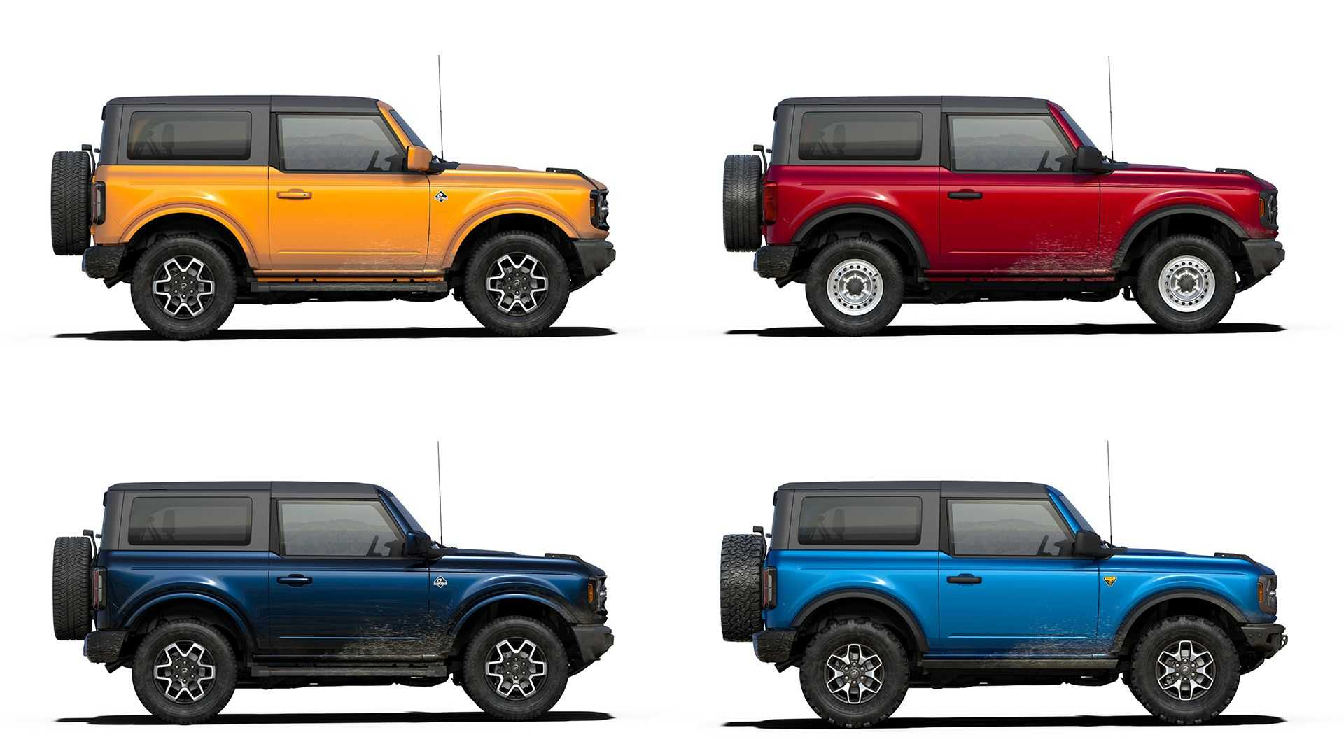 Build Your Own: 2021 Ford Bronco Configurator Goes Live