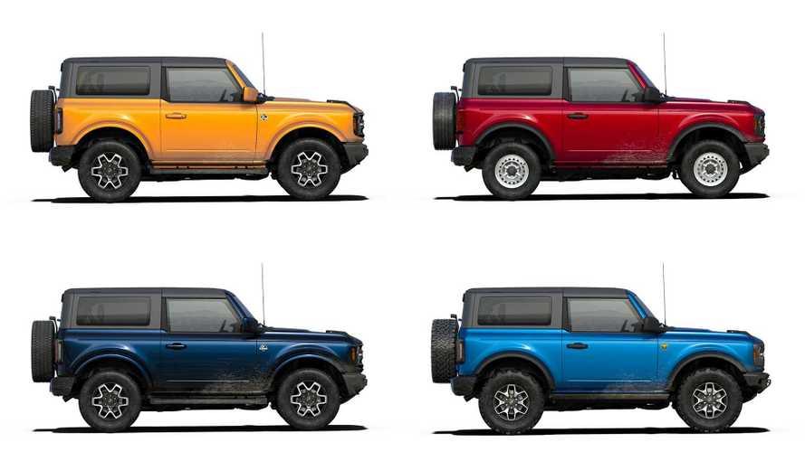 Ford Bronco 2021 lança configurador nos EUA e parte de R$ 160.141
