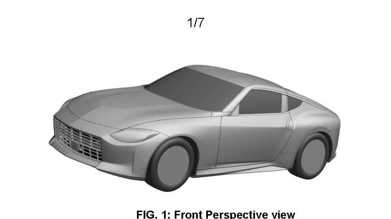 Nissan Z sports car possible production version patent image