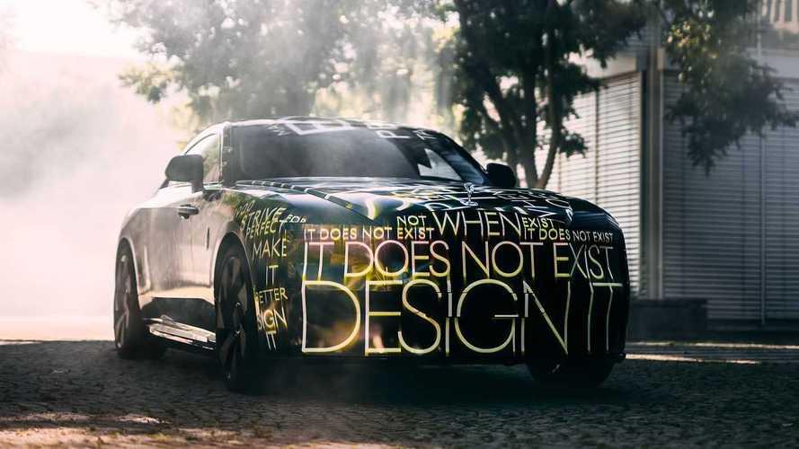 La Rolls-Royce électrique arrive, et elle s'appelle Spectre !