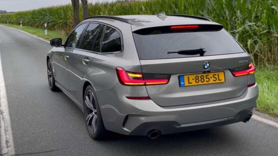 BMW 330e Touring Shows Electrified Performance On The Autobahn