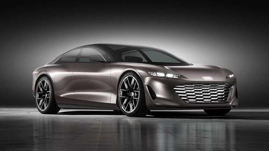 Audi Grandsphere Concept - Impressionnante berline GT électrique
