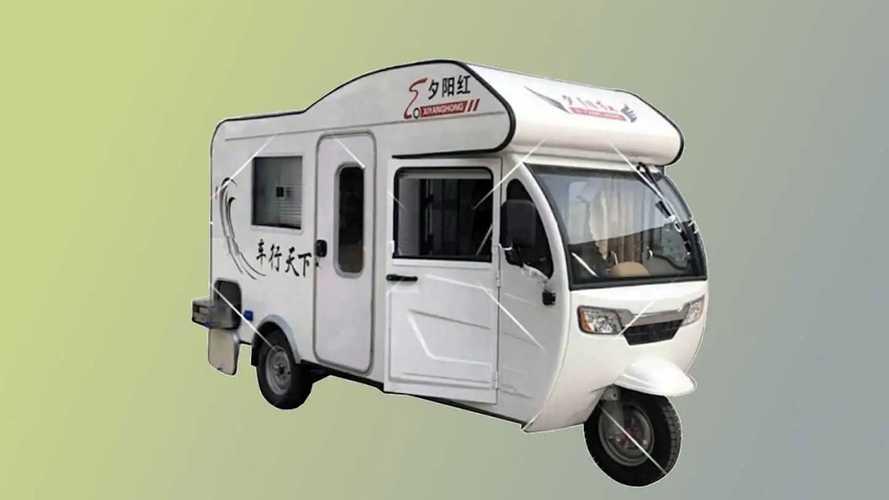 Henan Xinge, il mini-camper cinese da 4.000 euro