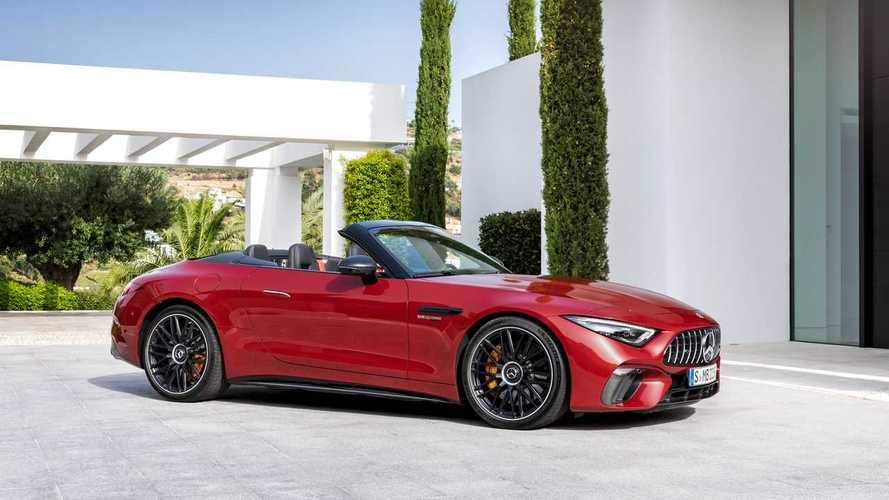 Mercedes SL, da oggi solo AMG, con ritorno alla capote in tela