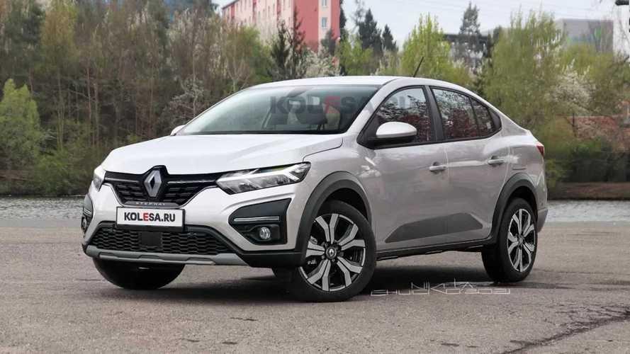 Veja como pode ficar o novo Renault Logan Stepway