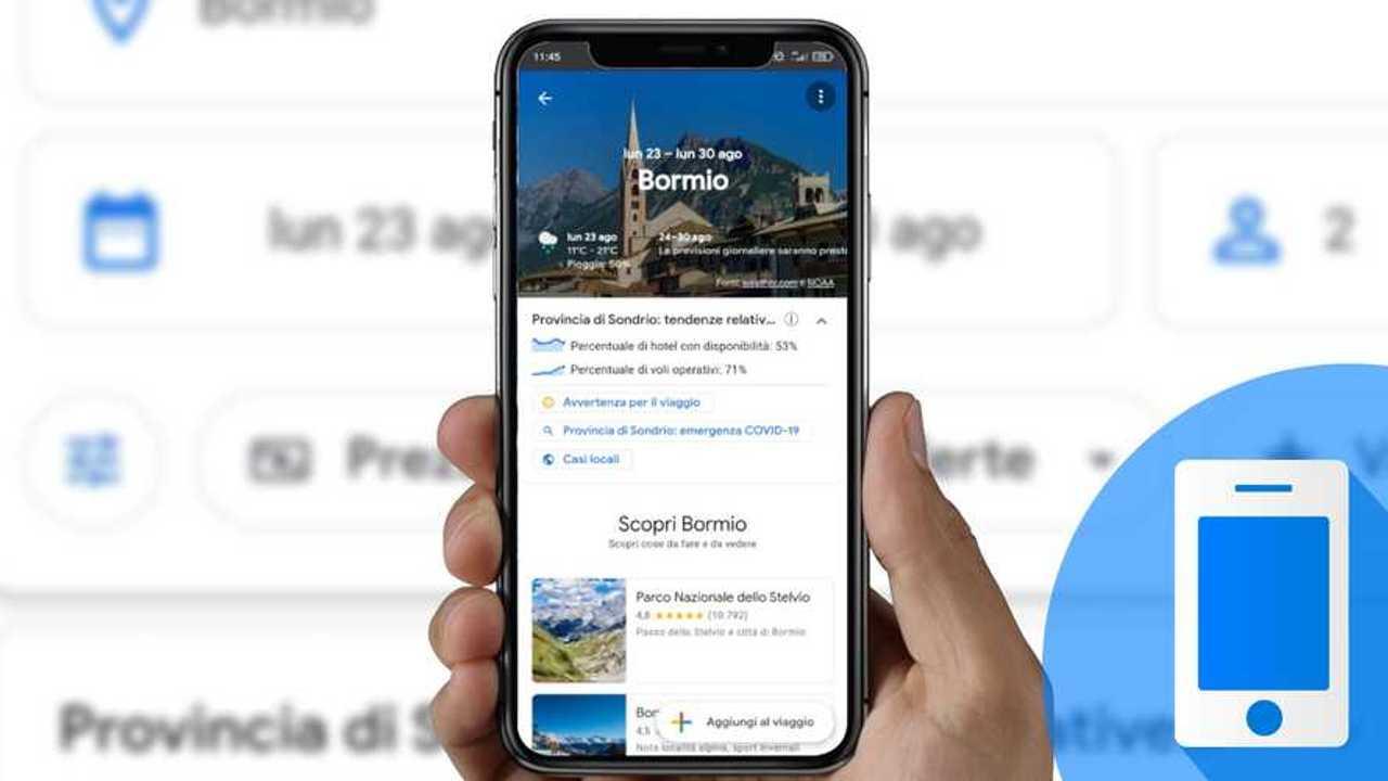 come funziona Google Viaggi: pianificare una vacanza in auto