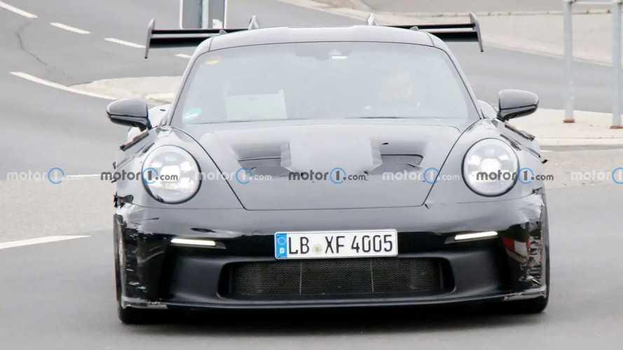 Porsche 911 GT3 RS (2021), le foto spia