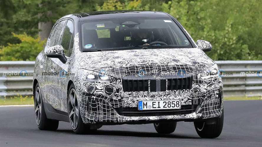 BMW 2 Series Active Tourer Spy Pics