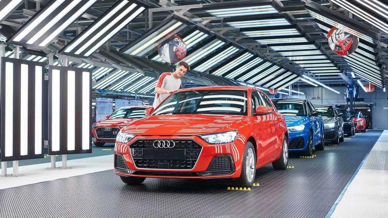 Audi A1 produção