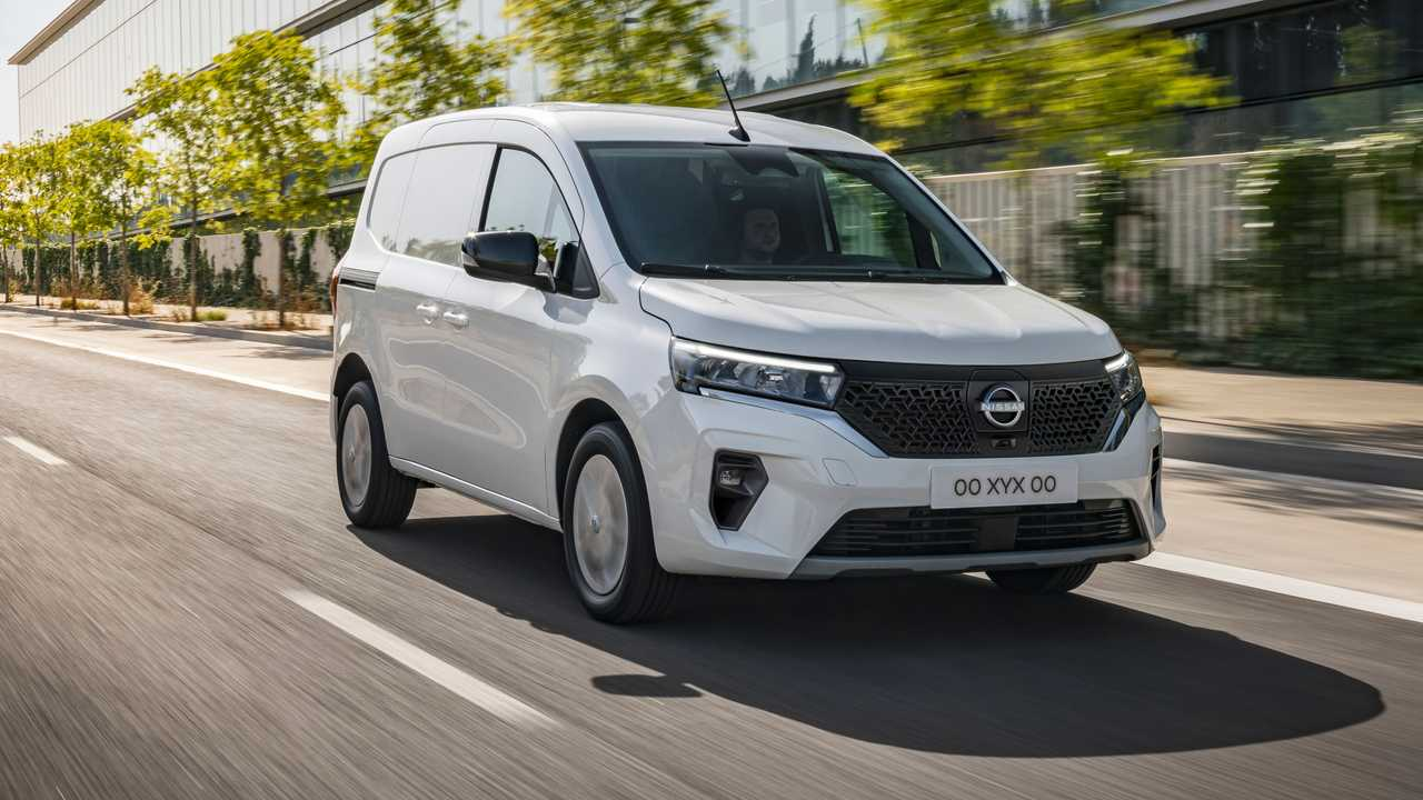 Nissan Townstar EV - movimento