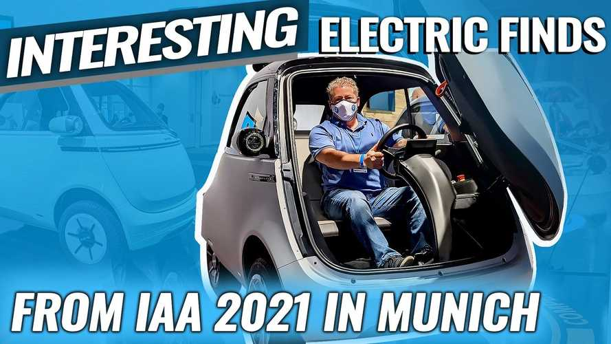 IAA 2021: Interesting Electric Finds