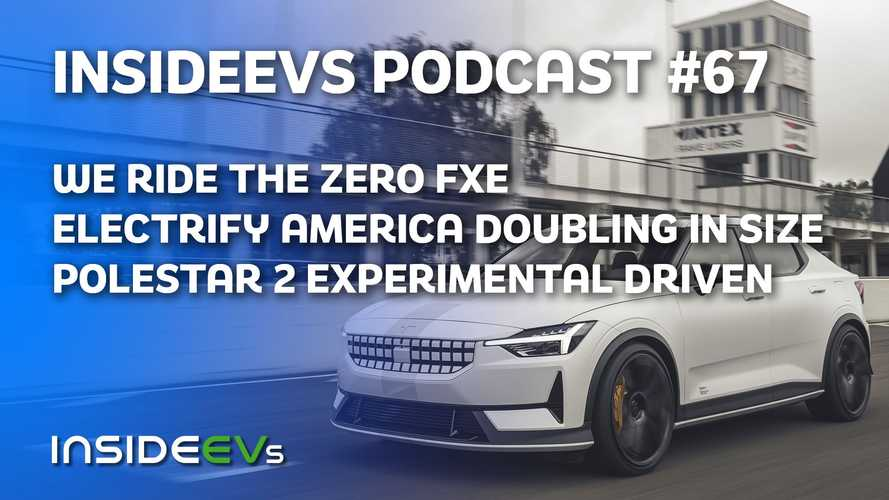 We Ride The New Zero FXE, Electrify America To Double Its Network