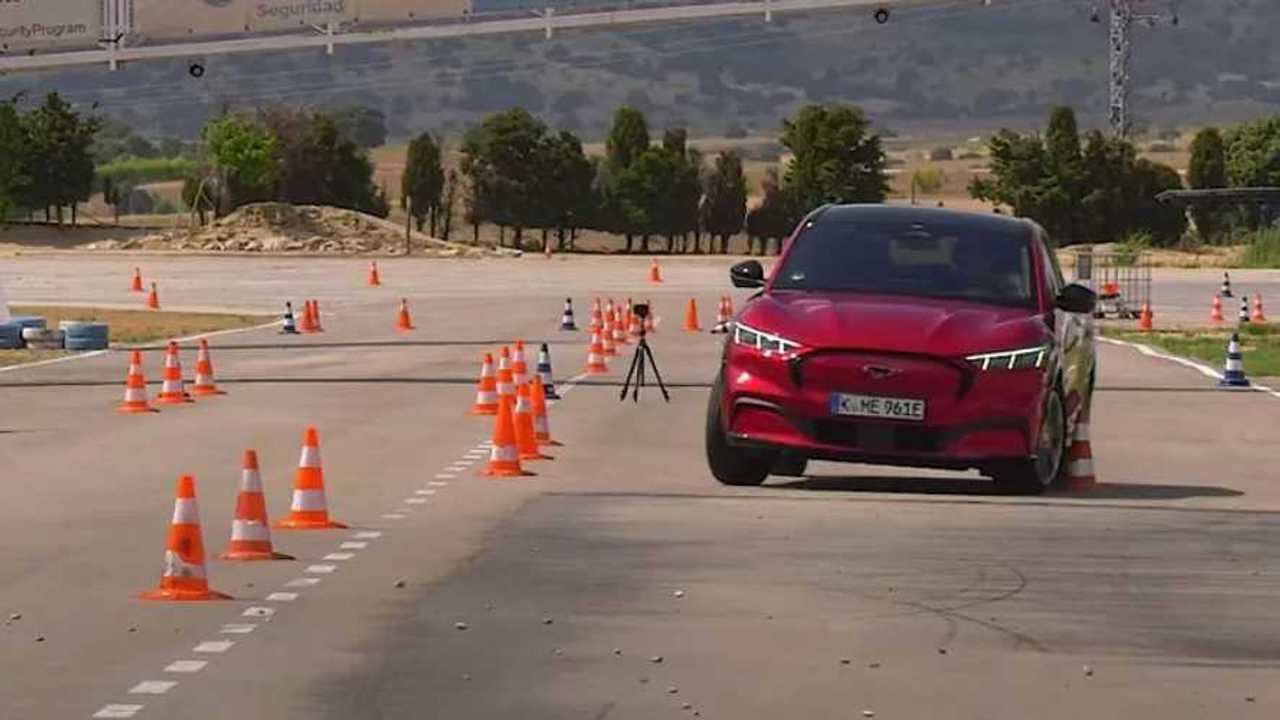 Ford Mustang Mach-E jávorszarvas-teszt