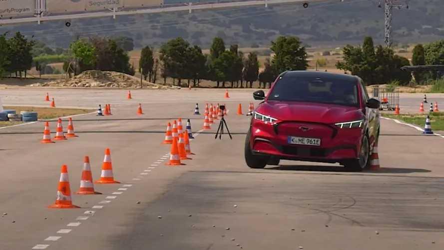 Felülmúlta a Ford Mustang Mach-E a Tesla Model X-et a jávorszarvas-teszten