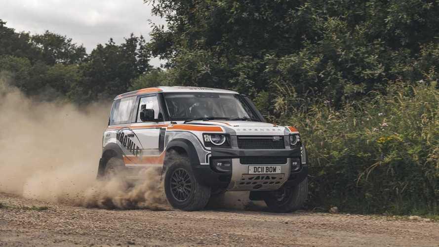Bowler Motors представила новый гоночный Defender