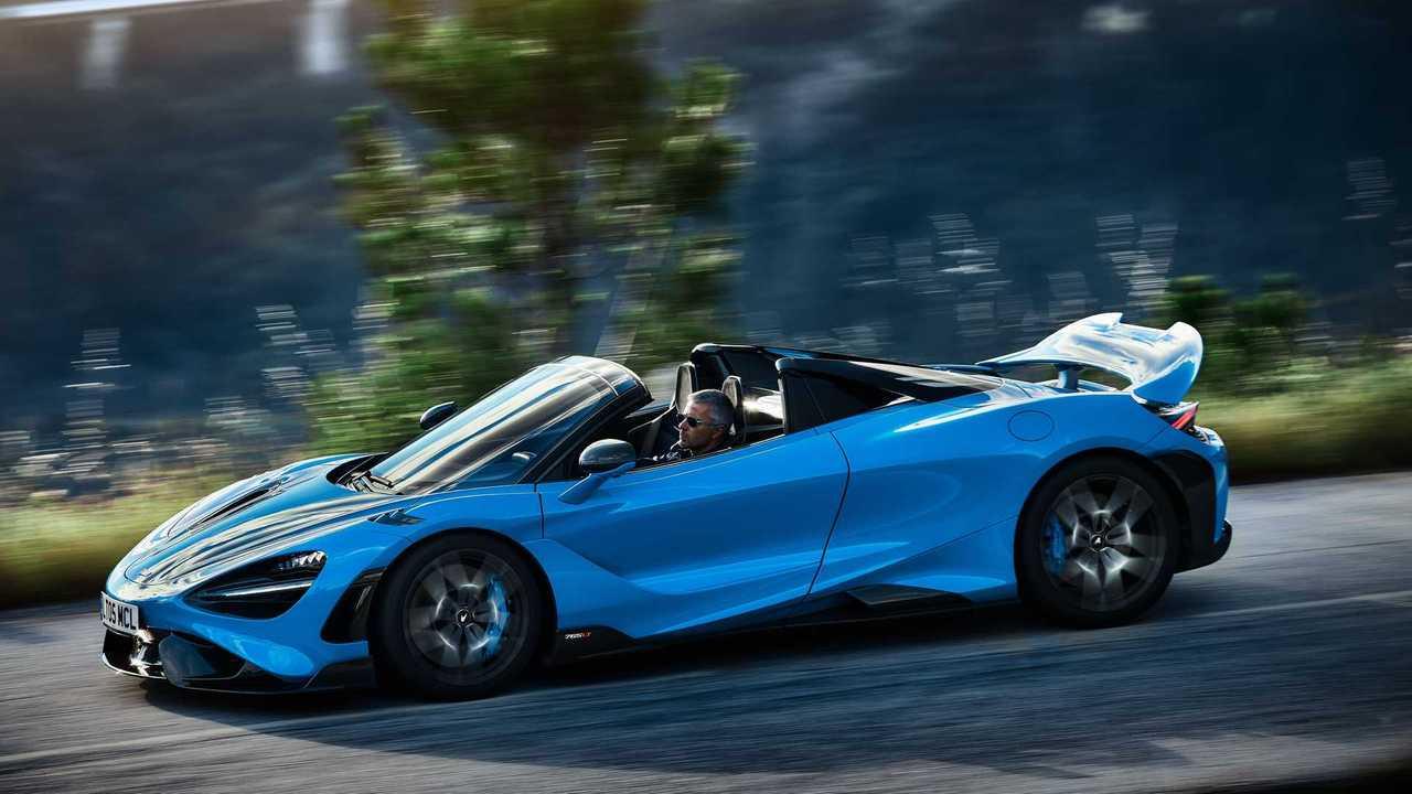 Der neue McLaren 765LT Spider ist das stärkste Cabrio in der Geschichte des Sportwagenbauers