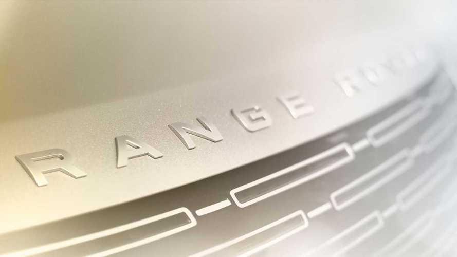 2022 Land Rover Range Rover Teaser'ları