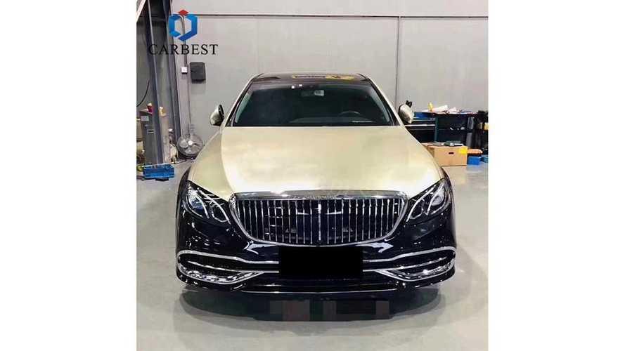 Mercedes E-Class Diubah Mercedes-Maybach S-Class Pakai Body Kit