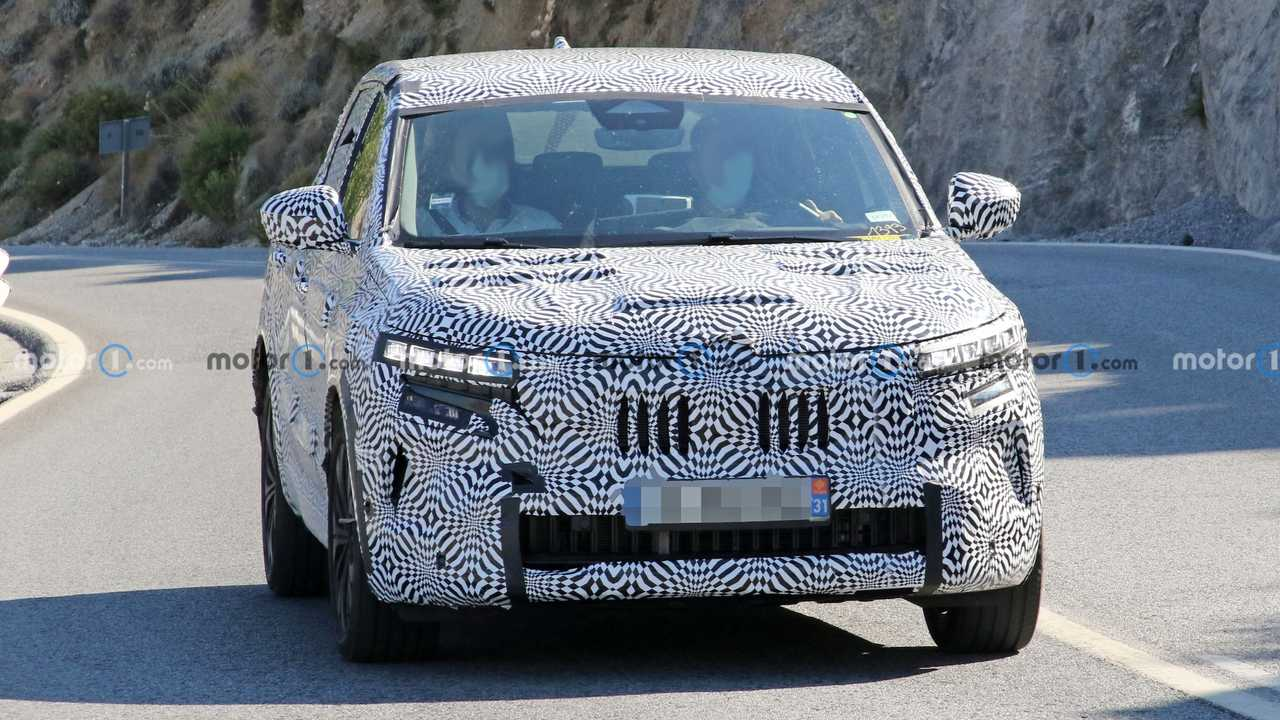 2022 Renault Kadjar new spy photo (exterior)