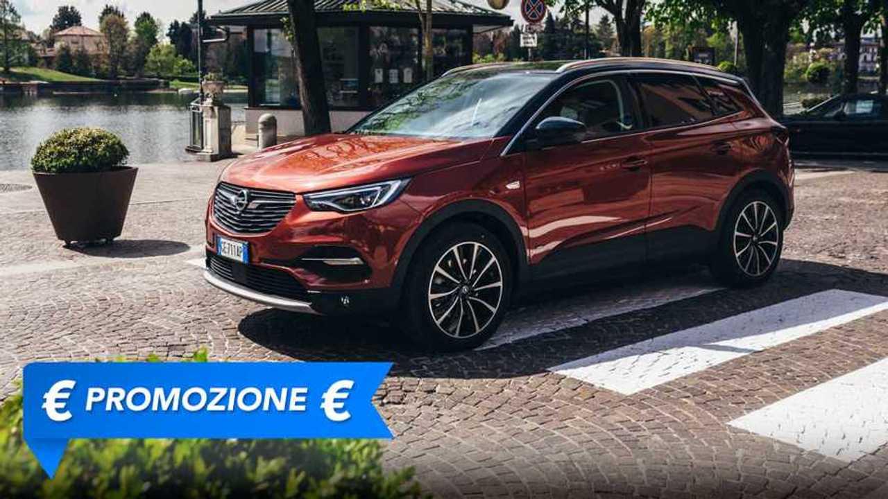Promozione Opel Grandland X ibrida plug in