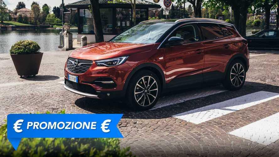 Promozione Opel Grandland X ibrida plug in, perché conviene e perché no