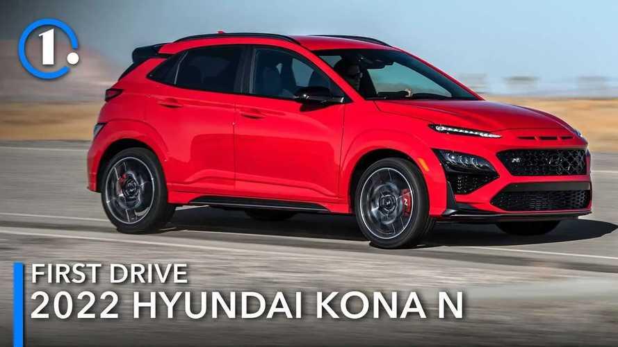 2022 Hyundai Kona N Early First Drive Review: A Tiny Taste
