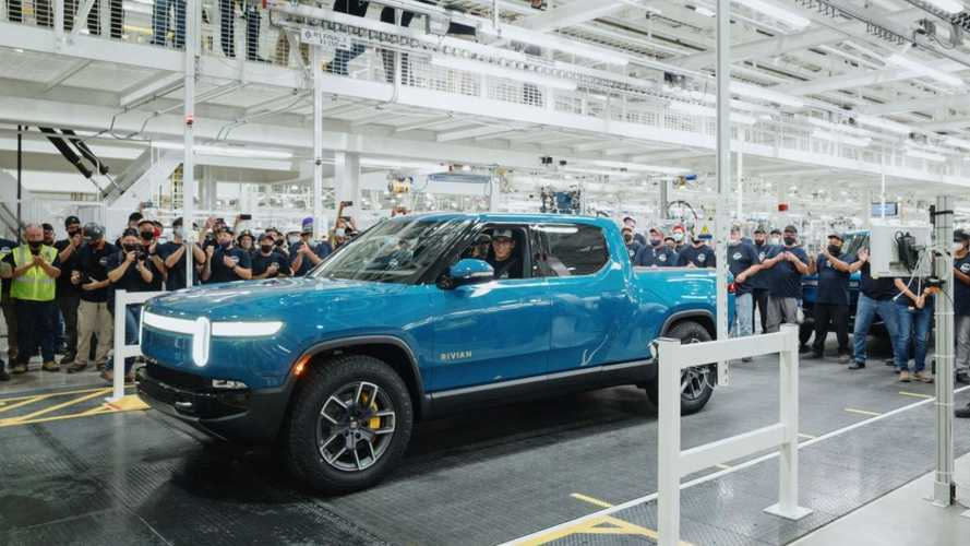 First Production-Ready Rivian R1T Rolls Off Assembly Line
