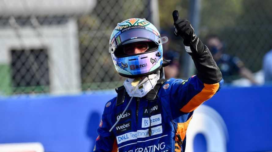 2021 İtalya GP: Ricciardo ve McLaren yıllar sonra kazandı