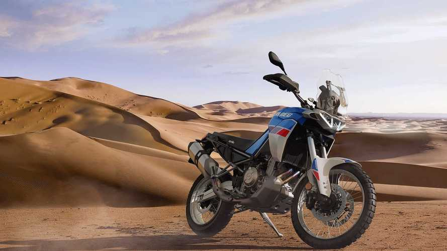 Aprilia, por fin, estrena la Tuareg 660